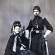 Unidentified Union Captain and Woman