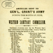 """Articles Sent To Gen'l Grant's Army"""
