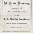 Soldiers' St. Louis Directory