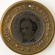 Campaign Token Supporting John C. Breckinridge